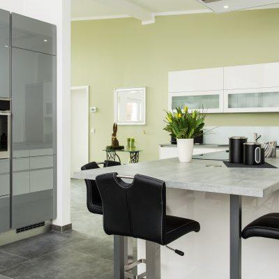 Nobilia-Küche in Hochglanz mit Echtlack