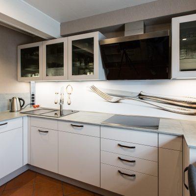 Küche von Nobilia in mattem Seidengrau